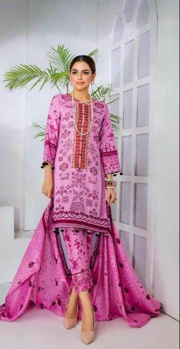 PALKEE EMBROIDERIED LAWN COLLECTION BY ARHUM TEXTILE - VOLUME 5