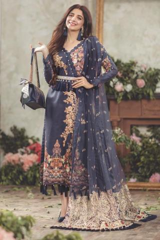 Sadia Asad Lawn Suit (Replica)(Unstitched)