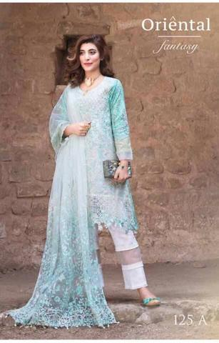 SADIA ASAD LAWN SUIT Replica)(Unstitched)