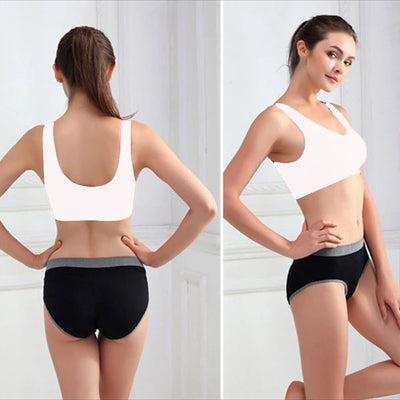 Stretchable Sports Bra - Aire Bra - 2B-106 - White - Bras - diKHAWA Online Shopping in Pakistan