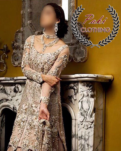 Ammara Khan LUXURY COLLECTION FULL SUIT ON NET (Replica)(Unstitched)