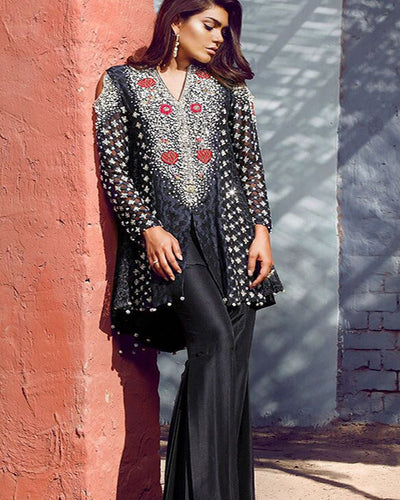 Anas Abrar Chiffon Festive Formal Wear Collection (Replica)(Unstitched)