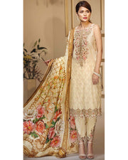 Anaya  Lawn With Chiffon Dupatta (Replica)(Unstitched)