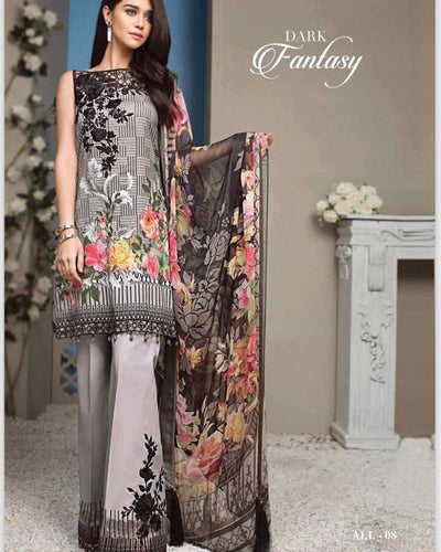 Anaya Lawn Collection (Replica)(Unstitched)
