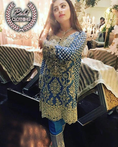 Anna Laghari Chiffon Collection (Replica)(Unstitched)