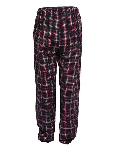 Pack of 2 - Men's Cotton Check Pajama - Cotton Yarn Dyed Flannel Men's Pajama MF-12