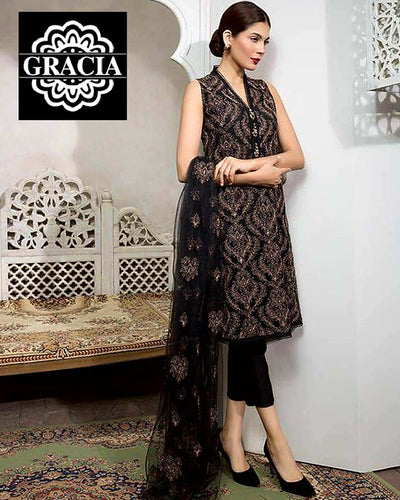 BAREEZE LAWN & CHIFFON Collection (Replica)(Unstitched)