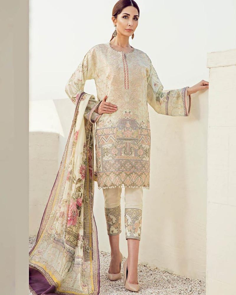 Buy Baroque Lawn Collection (Replica)(Unstitched) Online in Karachi, Lahore, Islamabad, Pakistan, Rs.{{amount_no_decimals}}, Ladies Replica Suit Online Shopping in Pakistan, Baroque, Brand = Panjwani, Clothing, Collection = Baroque Lawn Collection, Dupatta = FANTASTIC PRINTED CHIFFON DUPATTA, Lawn Suit, Lawn Suits, Material = Lawn, Replica Lawn Suits, Replica Suits, Size = Unstitched, Style = Embroidered, Unstitched Suits, Women, Womens Pakistani Clothing, Online Shopping in Pakistan - diKHAWA Fashion