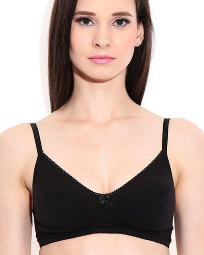 Be Belle Basic Cott Non Padded Non Wired Bra
