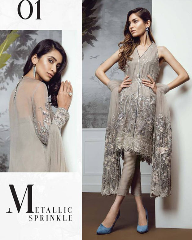 Baroque Chiffon Collection With Chiffon Dupatta IMZ-1460 (Replica)(Unstitched)