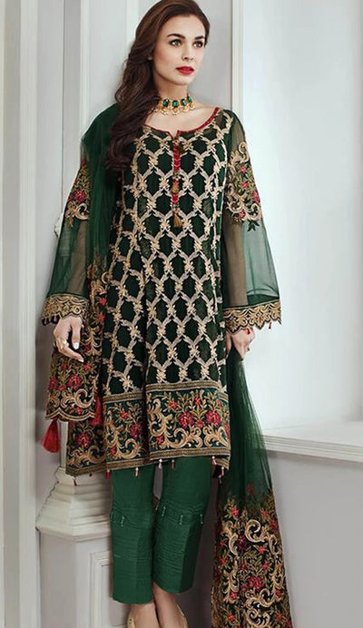 Jazmine by Baroque Lawn Suit (Replica)(Unstitched)
