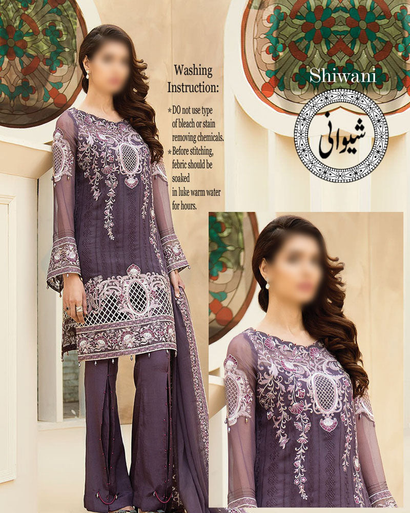 Buy Baroque Lawn With Heavy Chiffon Embroidery Dupatta (Replica)(Unstitched) Online in Karachi, Lahore, Islamabad, Pakistan, Rs.{{amount_no_decimals}}, Ladies Replica Suit Online Shopping in Pakistan, Baroque, 3PC Unstitched Suits, Brand = Shiwani By D.K Brother, Clothing, Collection = Baroque Lawn Collection, Dupatta = Heavy chiffon embroidery Dupatta, Lawn Suits, Material = Lawn, Replica Lawn Suits, Replica Suits, Size = Unstitched, Style = Embroidered, Unstitched Suits, Women, Womens Pakistani Clothing, Online Shopping in Pakistan - diKHAWA Fashion