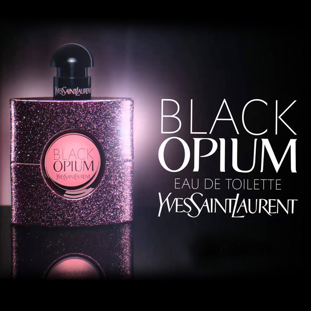 Black Opium YVES Saint Laurent Eau De Toilette For Women-90-Ml - Ladies Perfume - diKHAWA Online Shopping in Pakistan