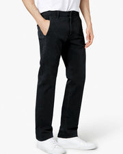 Mens Cotton Dress Pants By Dockers - Black Cotton Formal Dress Pants