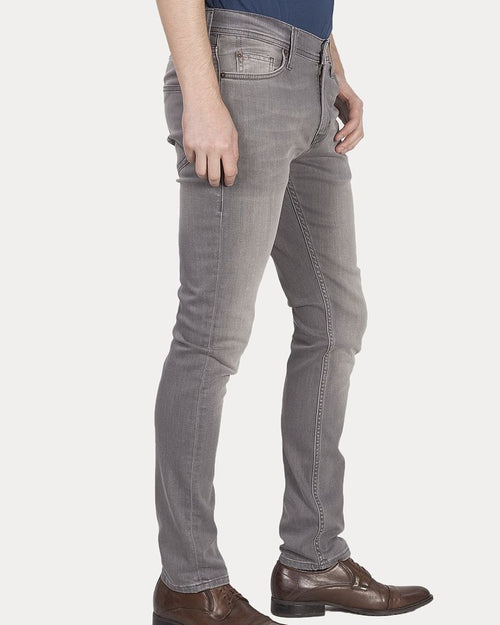Mustang True Denim Branded Jeans for Men - Grey Vegas Skinny