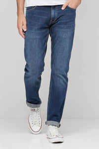 Next Dark Blue Denim Slim Fit Jeans for Men - Branded Slim Fit Jeans - Men Jeans - diKHAWA Online Shopping in Pakistan