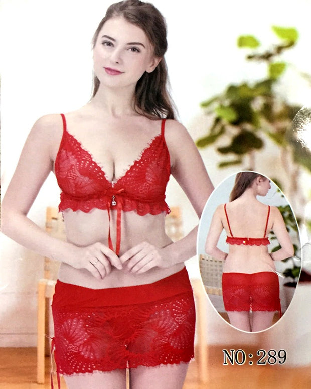 Bridal Lingerie Set , Honeymoon Lingerie Sets - 289 - Lingerie - diKHAWA Online Shopping in Pakistan