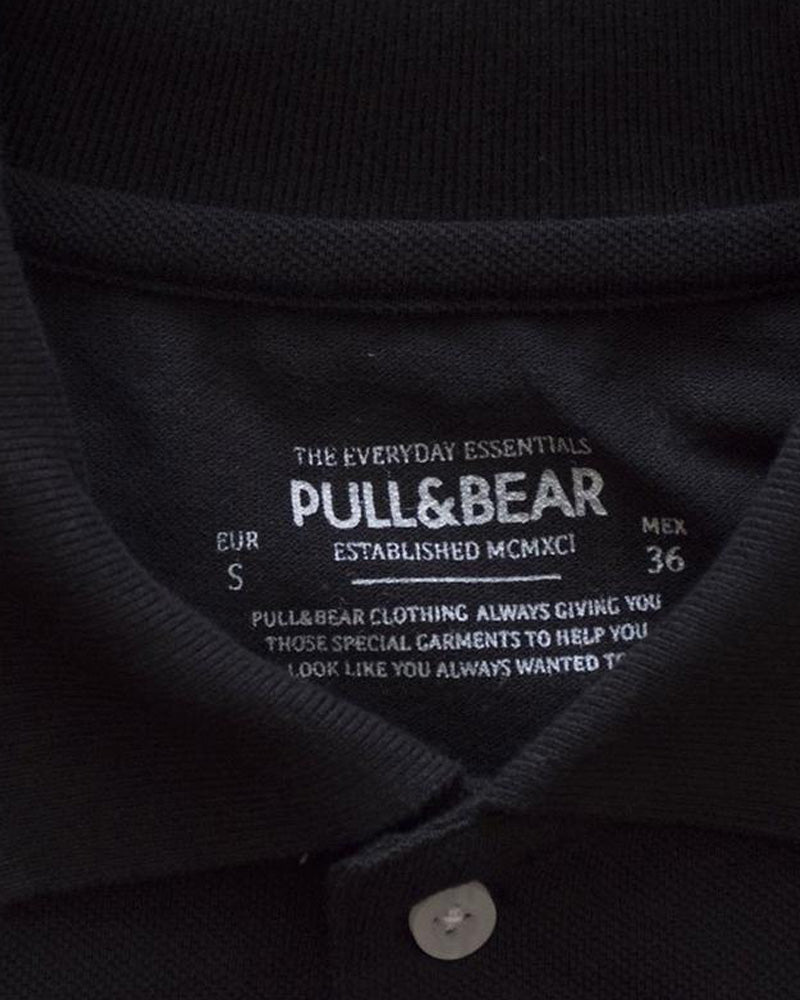 Buy Pull & Bear Branded Polo T-Shirt For Mens - Black Polo Branded T-Shirts Online in Karachi, Lahore, Islamabad, Pakistan, Rs.500.00, Mens T-Shirts Online Shopping in Pakistan, Pull & Bear, Branded, Export Stock Lot, Mens Clothing, Mens Fashion, Mens T-Shirts, diKHAWA Online Shopping in Pakistan