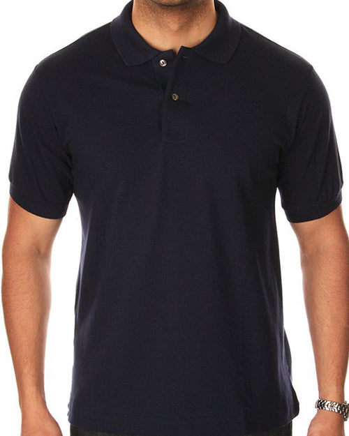 Pull & Bear Branded Polo T-Shirt For Mens - Neavy Blue Polo Branded T-Shirts
