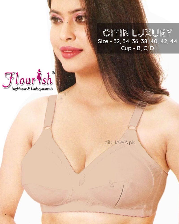 Citin Luxury - Flourish - Non Padded & Non Wired Cotton Bra