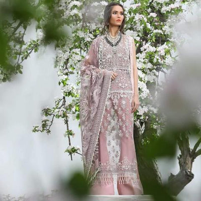 SANA SAFINAZ NET BRIDAL SUIT (Replica) (Unstitched)