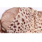 Underwired Cheetah Print Double Padded Bra - Bras - diKHAWA Online Shopping in Pakistan