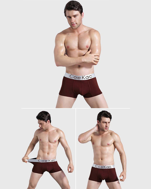 Pack of 6 - Ck Mens Boxers - Colourful - Breathable Mens Boxers