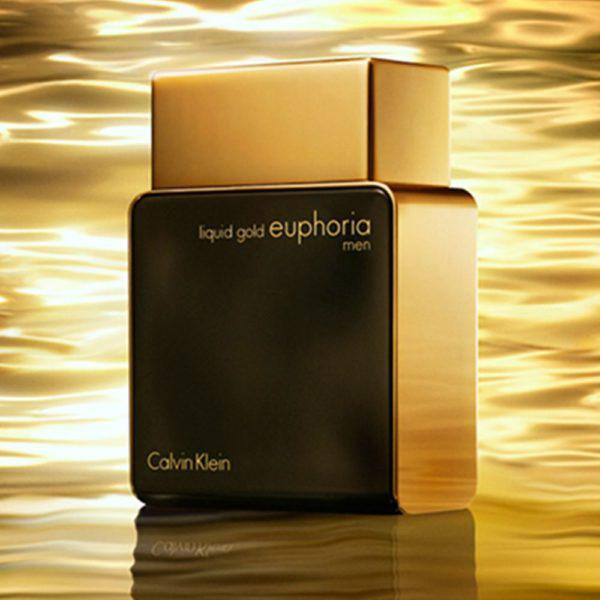 Calvin Klein – Ck Liquid Gold Euphoria Perfume For Men – 100ml - Mens Perfume - diKHAWA Online Shopping in Pakistan