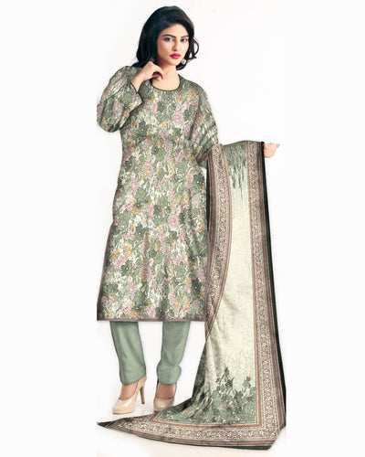 Ruby Lawn Suits 2018 Vol 1 By Five Star - 3 Piece Lawn Suits - D-05C (Replica)(Unstitched)