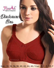 Disclosure Bra - Flourish Bra - Minimiser Bra - Full Support Bra