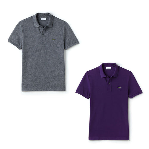 Pack Of 2 Lacoste Mens Polo T-Shirt - Polo T-Shirts - diKHAWA Online Shopping in Pakistan