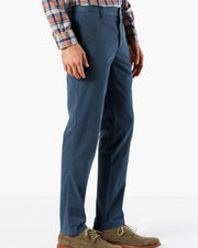 Mens Cotton Dress Pants By Dockers - Dark Blue Cotton Formal Dress Pants