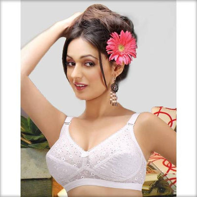 Dasy Bra - Tulip Bra - Cotton Bra - Non Padded Non Wired Bra