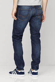 Dark Blue Jeans Slim Fit By Next - Branded Slim Fit Jeans - Men Jeans - diKHAWA Online Shopping in Pakistan