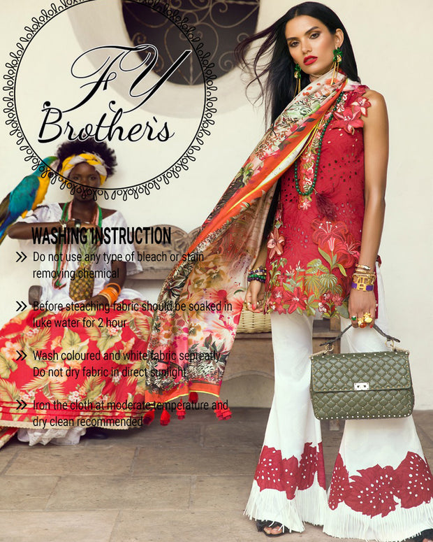 Elan Master Replica Lawn Collection - (Replica)(Unstitched)