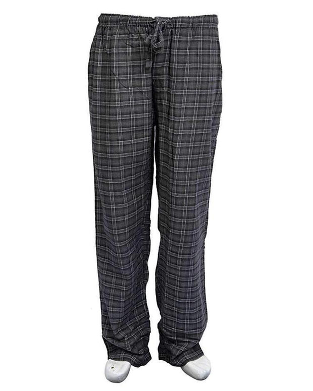Pack of 2 - Men's Cotton Check Pajama - Cotton Yarn Dyed Flannel Men's Pajama MF-13