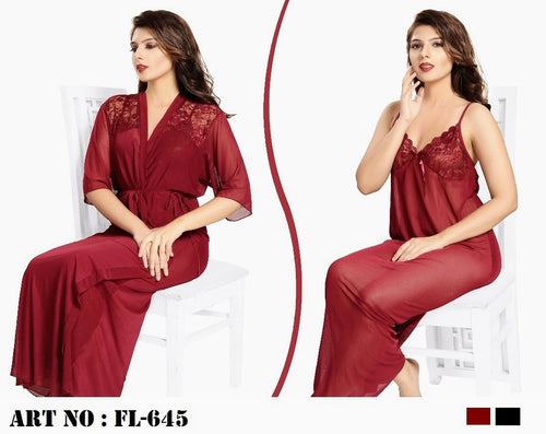 Buy Flourish 2 Pcs Nightwear - FL-645 Online in Karachi, Lahore, Islamabad, Pakistan, Rs.{{amount_no_decimals}}, Ladies Nighty Sets Online Shopping in Pakistan, Flourish, cf-color-black, cf-size-medium, cf-type-ladies-nighty-sets, cf-vendor-flourish, Clothing, Lingerie & Nightwear, Nightwear, Nighty Sets, Women, Online Shopping in Pakistan - diKHAWA Fashion
