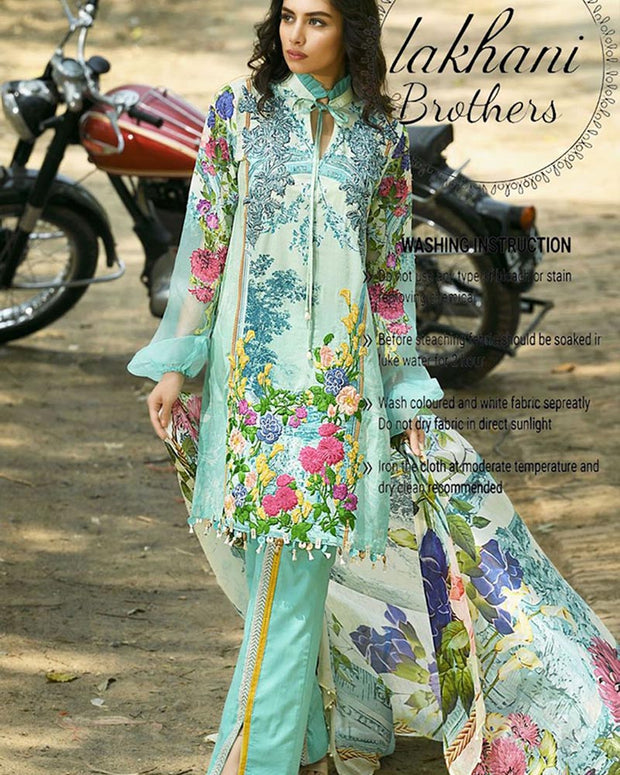 Firdous Lawn Digital Collection (Replica)(Unstitched)