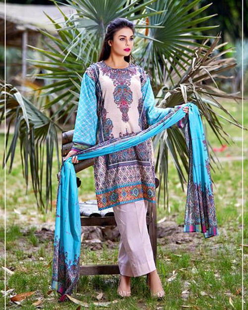 Buy D'vine Lawn Suits 3 Piece - 05-B (Original) (Unstitched) Online in Karachi, Lahore, Islamabad, Pakistan, Rs.{{amount_no_decimals}}, Ladies Lawn Suits Online Shopping in Pakistan, D'vine Lawn, 3PC Unstitched Suits, Brand = Five Star, Clothing, Collection = D'vine Lawn, Color = Sky Blue, D'vine Lawn by Five Star, Dupatta = Printed Lawn, Lawn Suits, Material = Lawn, Original Lawn Suits, Original Suits, Printed Lawn Suits, Printed Suits, Size = Unstitched, Style = Printed, Unstitched Suits, Women, Womens Pakistani Clothing, Online Shopping in Pakistan - diKHAWA Fashion