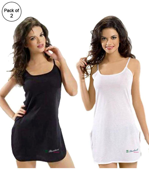 Buy Pack Of 2 - Standard Plain Supersoft Camisole Online in Karachi, Lahore, Islamabad, Pakistan, Rs.{{amount_no_decimals}}, Ladies Camisole Online Shopping in Pakistan, Standard, Camisole, cf-size-free-size, cf-type-ladies-camisole, cf-vendor-standard, Clothing, Lingerie & Nightwear, Nightwear, Women, Online Shopping in Pakistan - diKHAWA Fashion