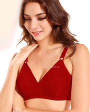 Glory Bra - Flourish Bra - Satin Silk Bra - Non Padded Non Wired Bra