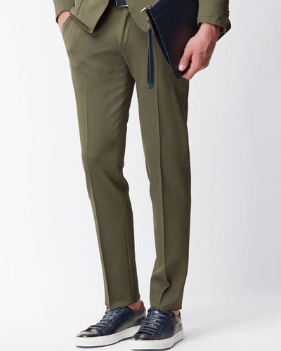 Mens Cotton Dress Pants By Hugo Boss - 2015
