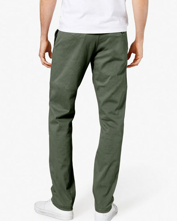 Mens Cotton Dress Pants By Dockers - Green Cotton Formal Dress Pants