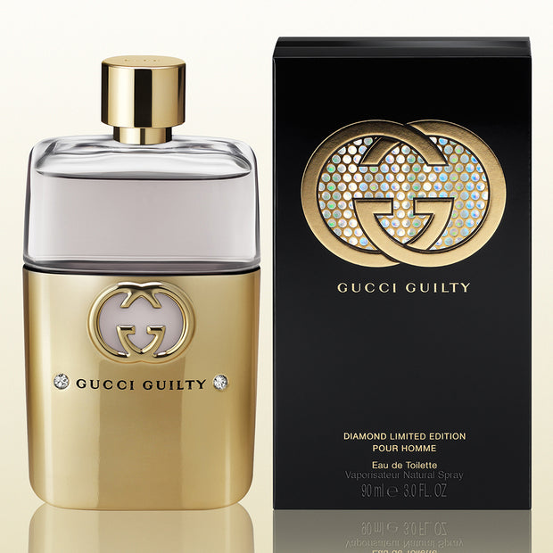 Gucci Guilty Diamond Limited Edition Pour Homme For Men – 90ml - Mens Perfume - diKHAWA Online Shopping in Pakistan