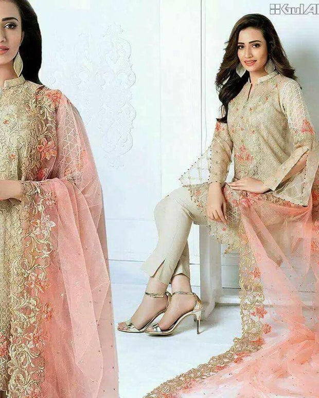 Gul Ahmed Excellent quality by Khansa Arts - KA-1415 (Replica)(Unstitched)