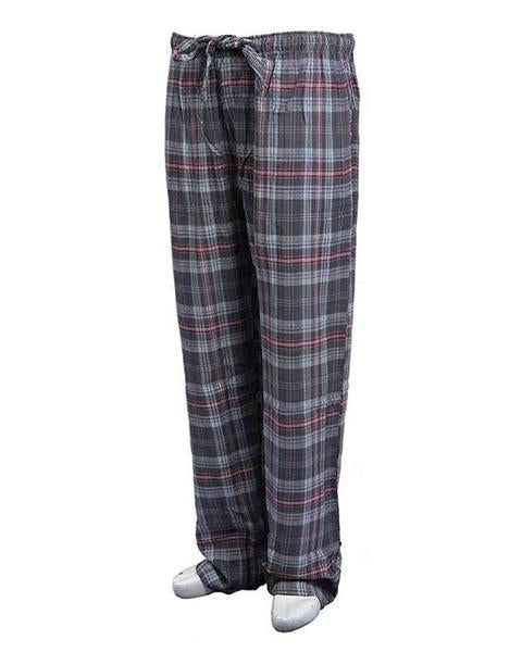 Pack of 2 - Men's Cotton Check Pajama - Cotton Yarn Dyed Flannel Men's Pajama MF-10