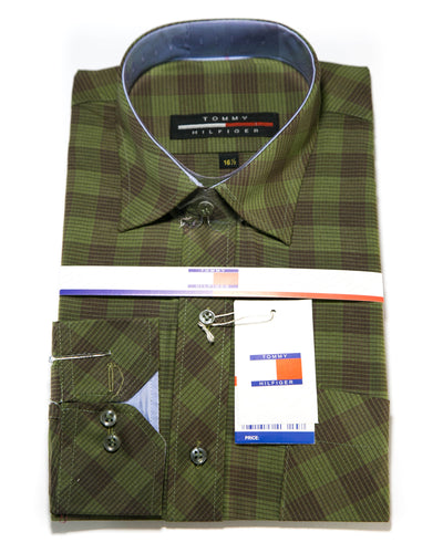 Mens Casual Dress Shirts By Tommy Hilfiger