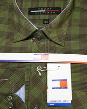 Mens Shirts Online Shopping in Pakistan. For Rs. Rs.599.00, ID - DK201743-15.5, Brand = Tommy Hilfiger, Mens Casual Dress Shirts By Tommy Hilfiger in Karachi, Lahore, Islamabad, Pakistan, Online Shopping in Pakistan, Body Fit Shirts, Brand_Tommy Hilfiger, branded, Branded Shirts, Casual Shirts, Check Shirts, Classic Collar Shirts, Clothing, Colour_Green, Dress Shirts, Eid Collection Shirts, Full Sleeves Shirts, Material_Cotton, Men, Men Party Shirts, Mens Western Clothing, Polo Cotton Shirts, Shirts, Size_15.5, Slim Fit Shirts, Spring Shirts, Standard Collar Shirts, Style_Body Fit Shirts, Style_Branded Shirts, Style_Casual Shirts, Style_Check Shirts, Style_Dress Shirts, Style_Eid Collection Shirts, Style_Ful, diKHAWA Fashion - 2020 Online Shopping in Pakistan