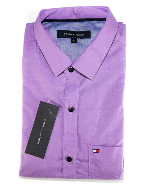 Buy Men Cotton Plain Shirts & Party Shirts By Tommy Hilfiger Online in Karachi, Lahore, Islamabad, Pakistan, Rs.{{amount_no_decimals}}, Mens Shirts Online Shopping in Pakistan, Tommy Hilfiger, Body Fit Shirts, branded, Branded Shirts, Casual Shirts, cf-size-large, cf-size-medium, cf-type-mens-shirts, cf-vendor-tommy-hilfiger, Check Shirts, Classic Collar Shirts, Clothing, Color = Purple, Dress Shirts, Eid Collection Shirts, Export Stocklot, Full Sleeves Shirts, Men, Men Party Shirts, Mens Western Clothing, Polo Cotton Shirts, Shirts, Size = Large, Size = Medium, Slim Fit Shirts, Spring Shirts, Standard Collar Shirts, Summer Shirts, Online Shopping in Pakistan - diKHAWA Fashion