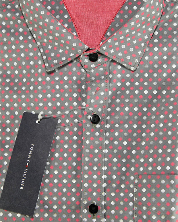Men Cotton Printed Shirts & Party Shirts By Tommy Hilfiger